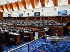 The Dewan Rakyat sitting at the Parliament in Kuala Lumpur Dewan Rakyat sit sitting