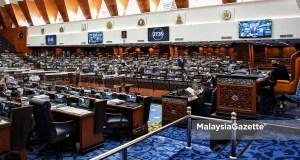 The Dewan Rakyat sitting at the Parliament in Kuala Lumpur