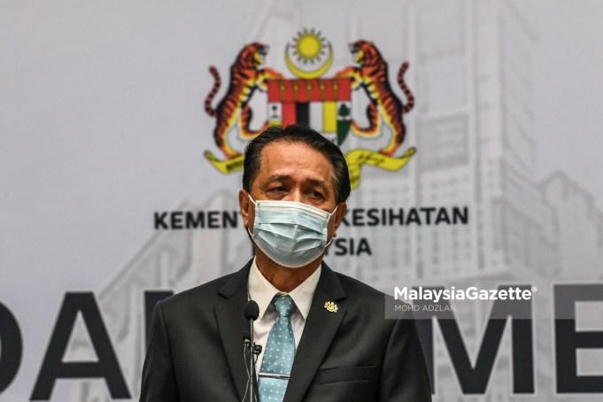 Tan Sri Dr Noor Hisham Abdullah Covid-19 cases deaths Malaysia
