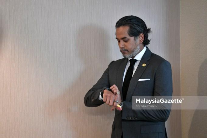 Khairy Jamaluddin Abu Bakar. PIX: MalaysiaGazette Undi 18 delay Election Commission EC