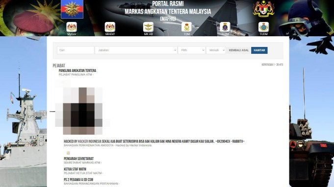 Portal rasmi ATM digodam, gagal jejaskan operasi