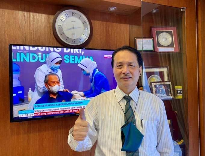 Director-General of Health Tan Sri Dr. Noor Hisham Abdullah PIX: Facebook side effect Covid-19 vaccine