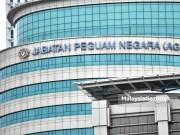 case item The Attorney-General's Chamber (AGC) in Putrajaya. PIX: FAREEZ FADZIL / MalaysiaGazette / 04 NOVEMBER 2020. Hasanah Abdul Hamid US$6.94 million case item MACC MEIO