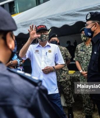 MCO ends CMCO Senior Minister (Security Cluster), Datuk Seri Ismail Sabri Yaakob. PIX: MOHD ADZLAN / MalaysiaGazette / 01 FEBRUARY 2021
