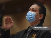Director-General of Health Tan Sri Dr Noor Hisham Abdullah at a news conference on the Covid-19 updates in the country. PIX: SYAFIQ AMBAK / MalaysiaGazette / 08 MAY 2021. daily cases