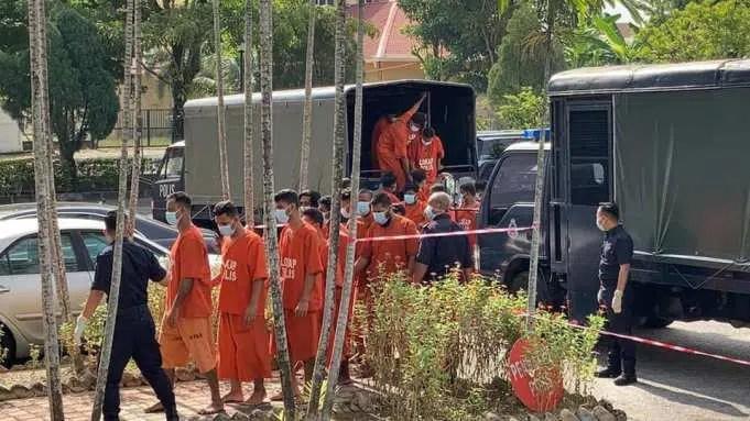 Aidiladha prayers Taman Pelangi Juru Penang foreigners