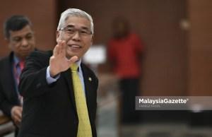 Ahli Parlimen Pasir Gudang, Hassan Abdul Karim ketika hadir pada Sidang Dewan Rakyat di Bangunan Parlimen, Kuala Lumpur. foto FAREEZ FADZIL, 28 NOVEMBER 2019