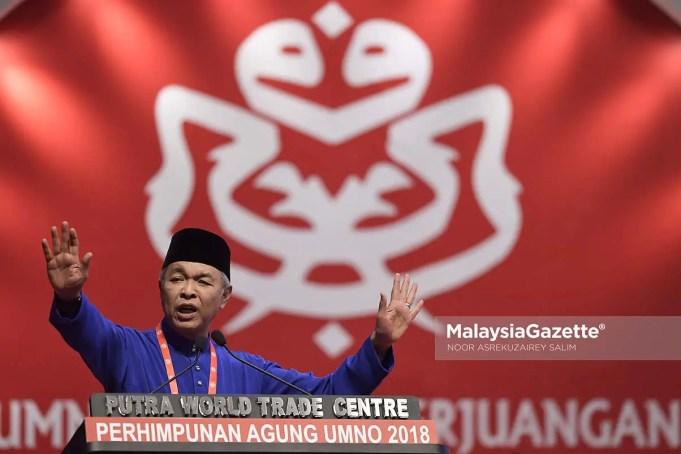 UMNO Ahmad Zahid Hamidi