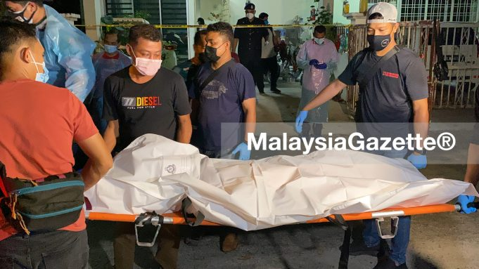 A woman was raped, sodomised and murdered at her house in Taman Seruling Emas, Sungai Jawi Penang, last night. rape sodomy murder