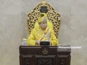 The Sultan Selangor, Sultan Sharafuddin Idris Shah. Covid-19 SOP