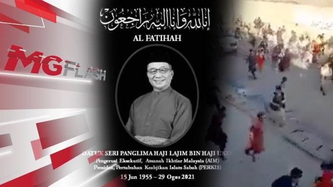 Parti Pribumi Bersatu Malaysia's Supreme Council Member, Datuk Seri Lajim Ukin has passed away at around 6.23 am this morning due to Covid-19 complications