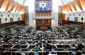 The Special Dewan Rakyat Sitting at the Parliament in Kuala Lumpur. PIX COURTESY OF THE DEPARTMENT OF INFORMATION / 26 JULY 2021. motion of confidence motions no confidence
