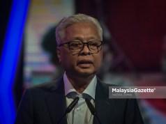 Prime Minister Datuk Seri Ismail Sabri Yaakob. Foto HAZROL ZAINAL, 08 OKTOBER 2021. Johor Terengganu PPN Phase 4