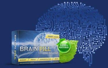 Brain Pill Memory Enhancer