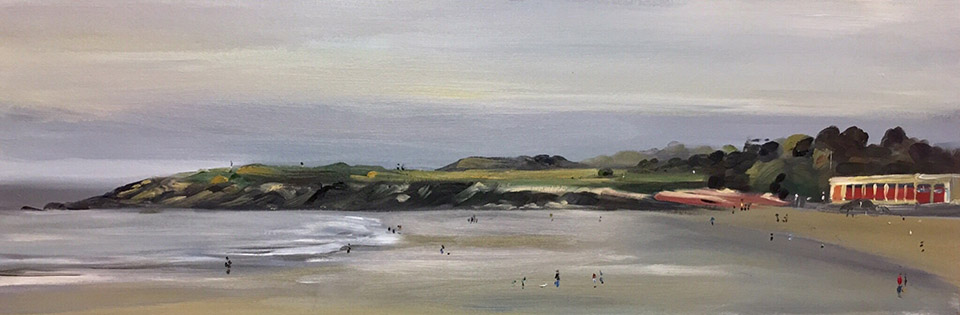 Barry Beach Plein Air Painting