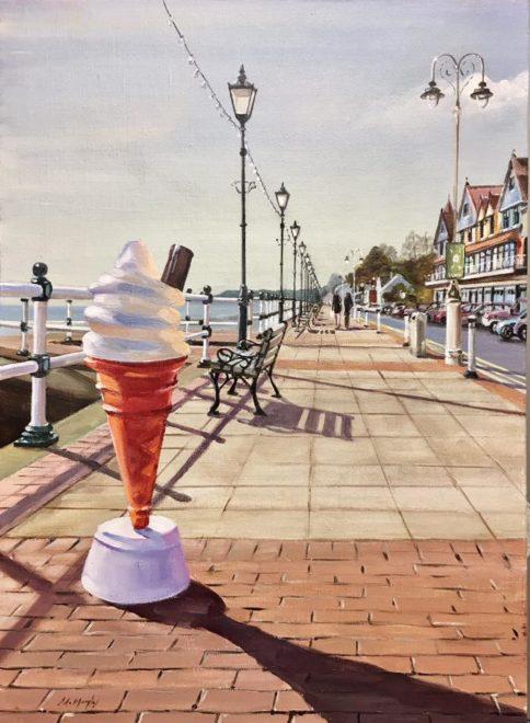 Plastic Ice Cream Penarth Esplanade