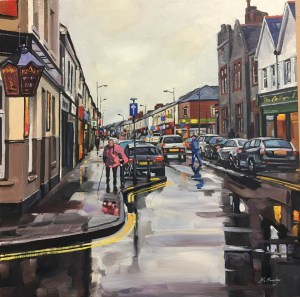 Clifton Street Oil Painting