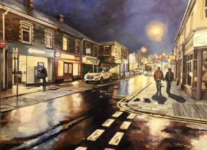Electric Light, Caerphilly High Street