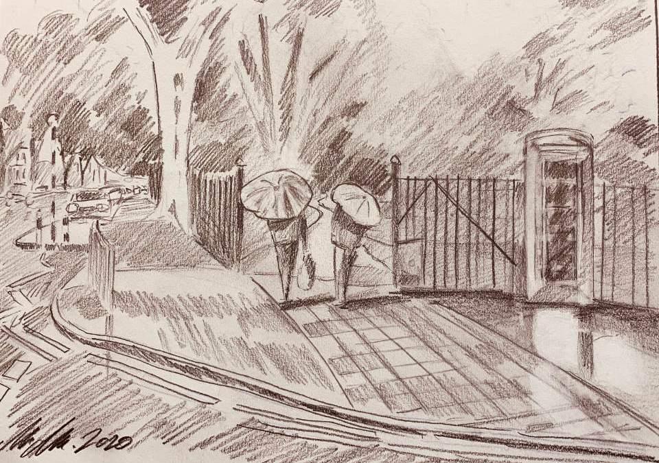 Roath Park Pleasure Gardens, ( Drawing )