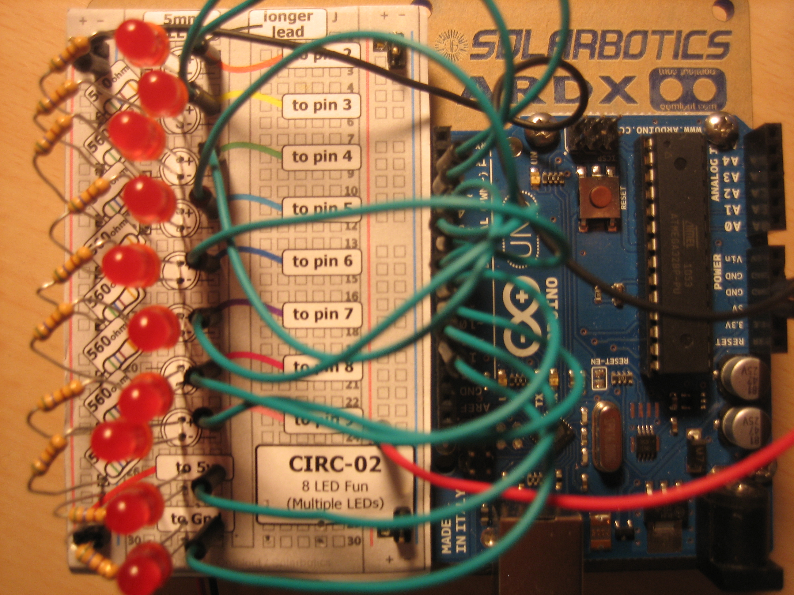 When Laid Out As A Circuit And On A Breadboard Plan It Looks Like This