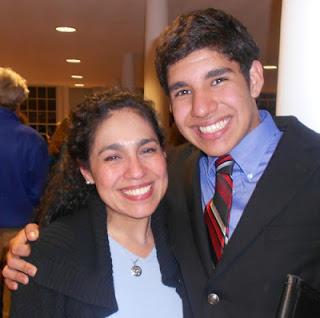 Castañeda and son, Miguel Angel