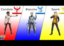 Pokemon GO Team Leaders