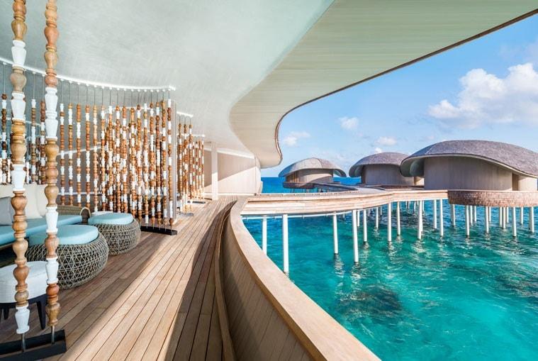 John Jacob Astor Estate the biggest water villa in Maldives