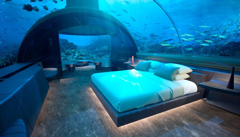 Conrad Maldives Rangali Reveals Photos Of The Underwater House