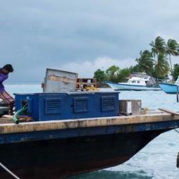 pescatori che rientrano