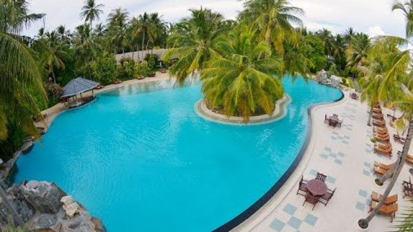 Sun Island Maldives Map