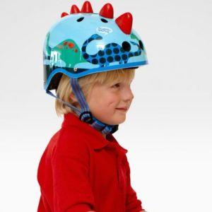Kaciga za djecu Micro Scootersaurus 3D