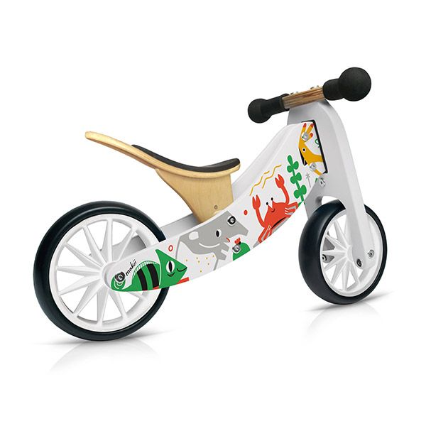 Tiny Tot 2u1 drveni bicikl Makii