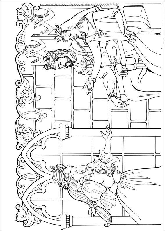 Malebog For Brn Farvelgning Af Sjove Disney Figurer