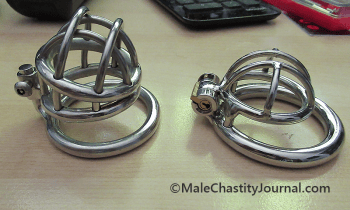 comparison of two chastity devices