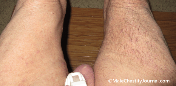 hairless and hairy legs