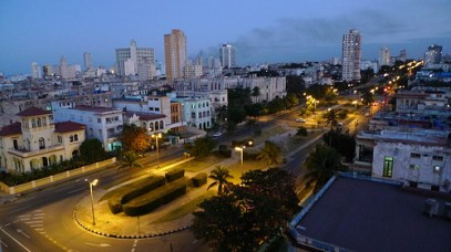 Nightfall in the city * Havana comes alive at night!