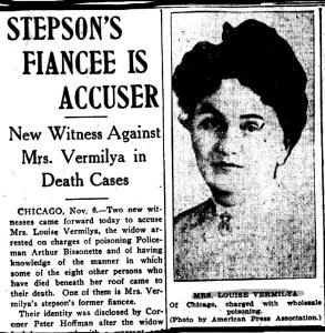 Louise Vermilya, poisoner