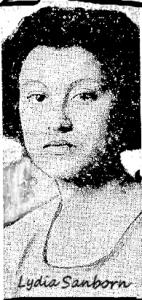 Lydia Sanborn