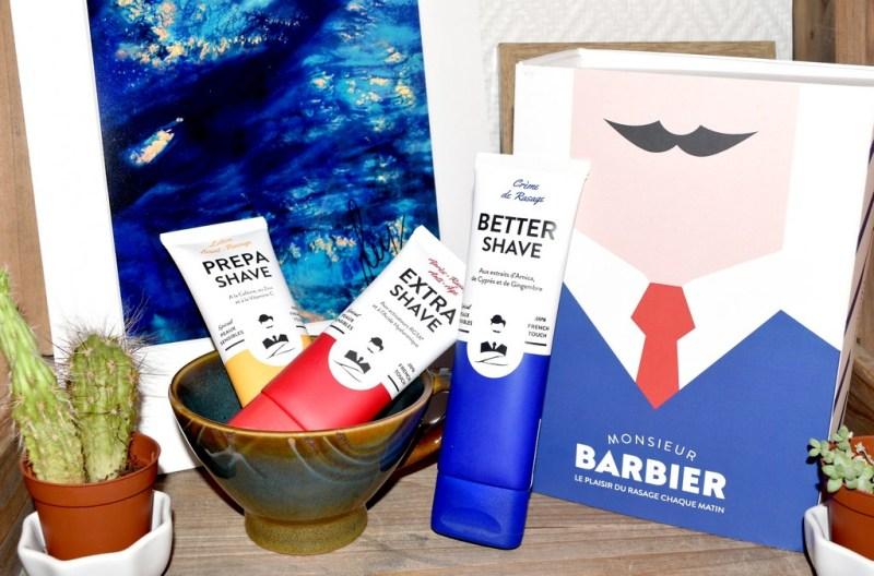 Rituel de rasage Monsieur Barbier