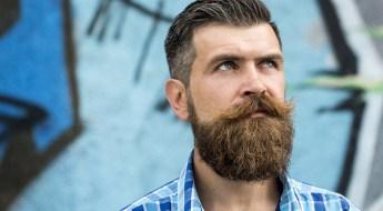 Pochoir à barbe