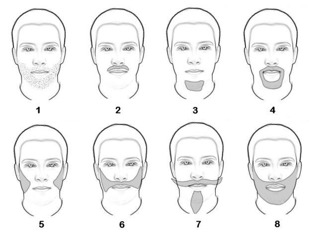 tendances barbe 2017