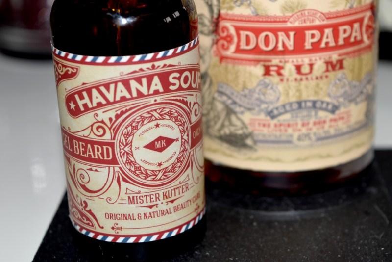 Huile à barbe Havana Soup Mister Kutter - test & avis