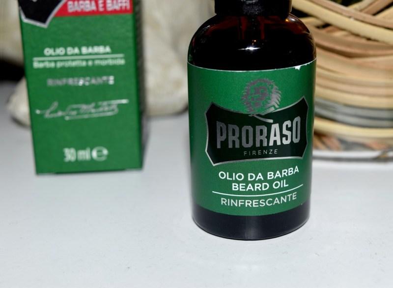 huile à barbe Proraso rinfrescante