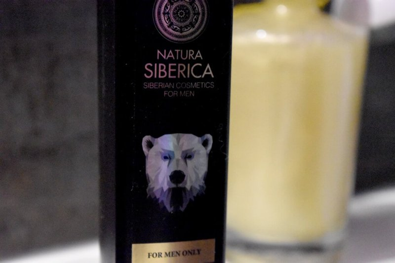 Gel douche Natura Siberica White Bear