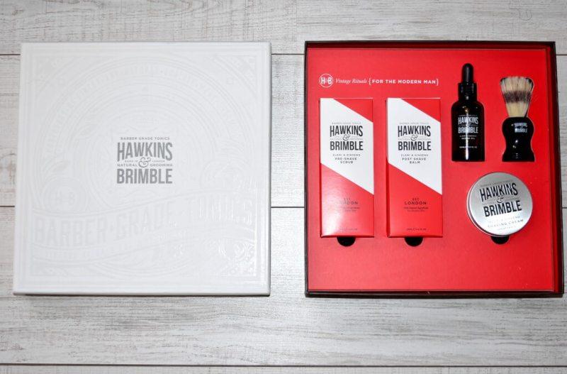 Test des soins barbe et rasage hawkins & Brimble