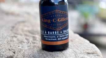 Huile à barbe King C Gillette