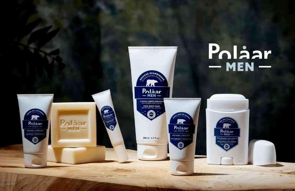 Polaar Men des soins hommes inspirés de l'Arctique
