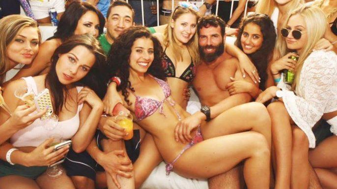 Dan Blizerian With Women