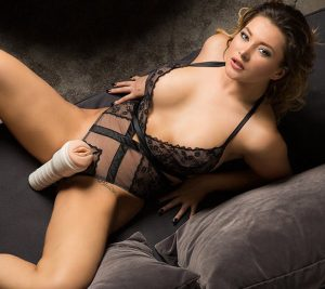 Image of Anna Polina and her Fleshlight