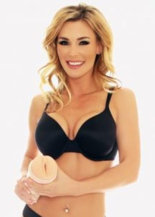 Tanya Tate With Her Fleshlight - cropped